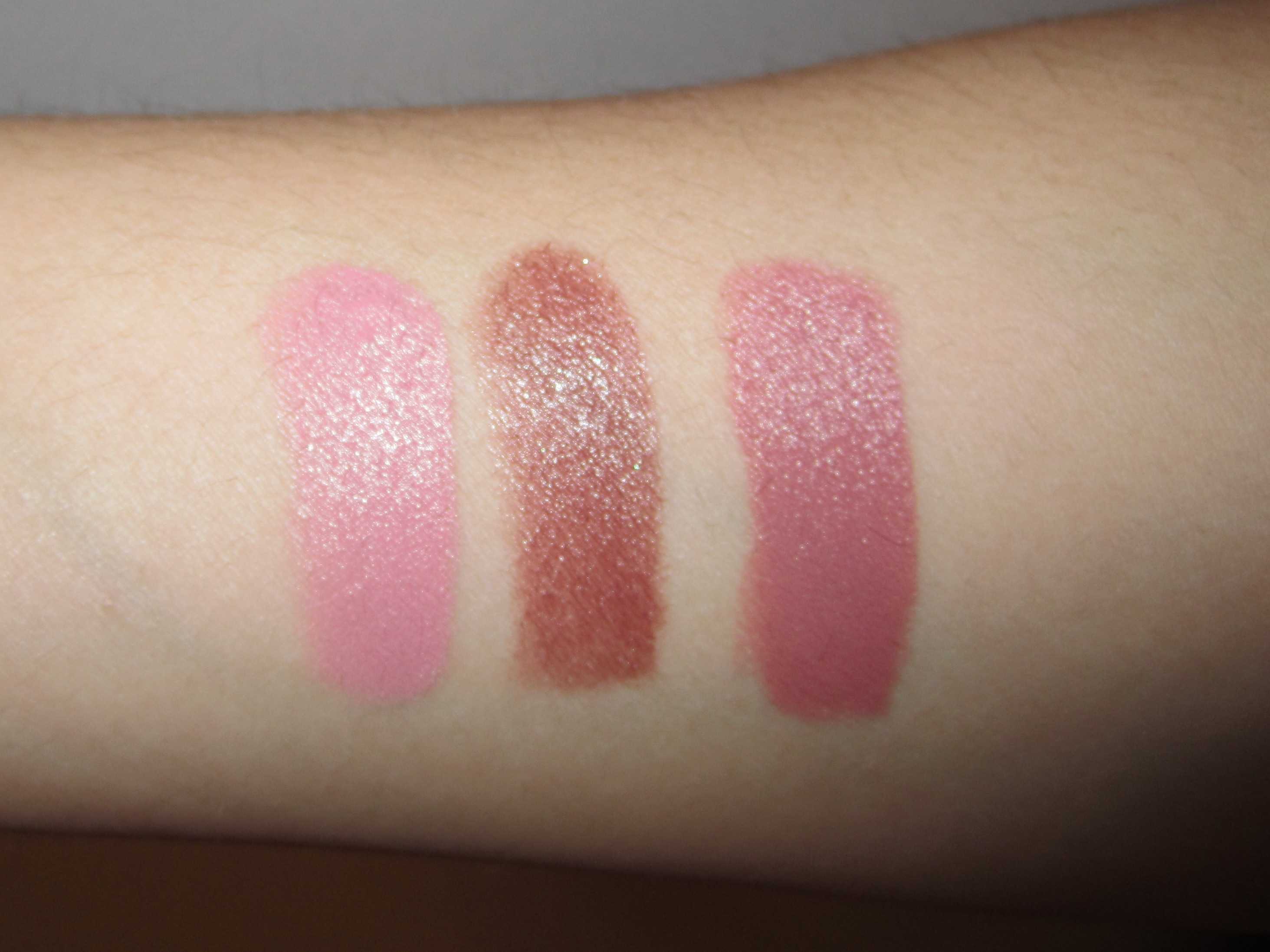 E.L.F. Mineral Lipstick Swatches and Review - HEYDOYOU