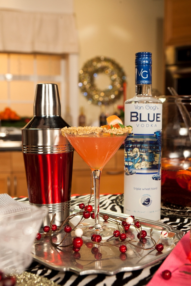 Holiday Mojito Entertaining Tips from Nadia G and @VanGoghVodka