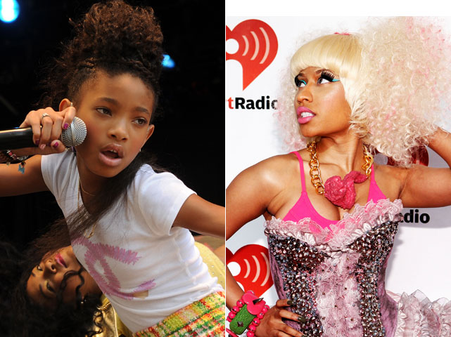 willow smith nicki minaj 2011 10 06 NEW MUSIC: @NickiMinaj ft. Willow Smith Fireball