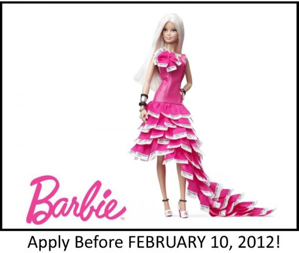 tfi barbie1 Win $10,000 with Barbie and the TFI!