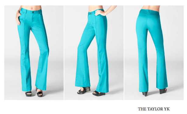 taylor yk The Perfect Pant by CHAIKEN!