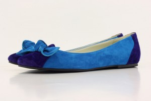 Blue Dark Blue Suede Flats 300x200 Shoe designing with @shoesofprey