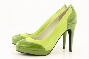 Light Green Soft Leather Green Patent 300x200 Shoe designing with @shoesofprey