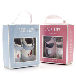 packaging Stomping around in @JackLily shoes