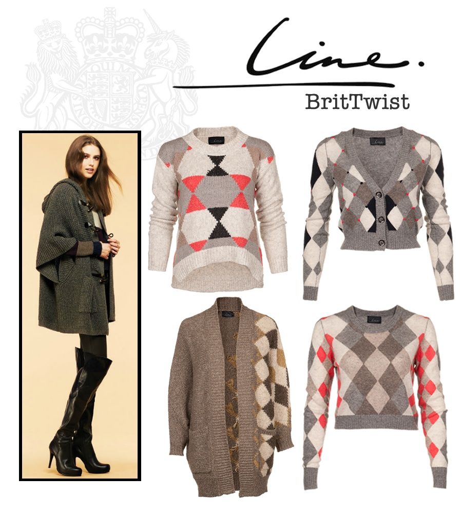 BritTwist British Blend with @LINEKnitwear Fall 2012