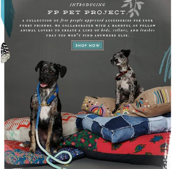 fp @FreePeople Pet Project
