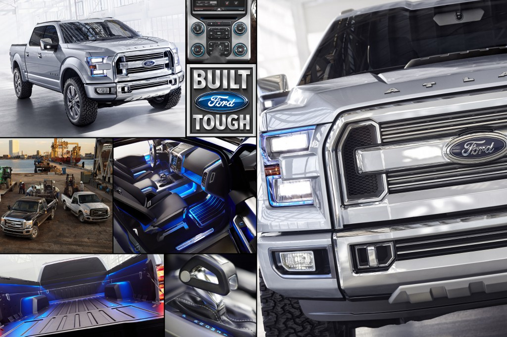 Design with a Purpose Built Tough Ford Atlas