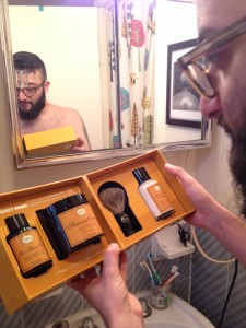 THE 4 Elements of the Perfect Shave in all of it's glory!