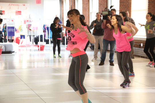 Karina Smirnoff teaches a SoHo