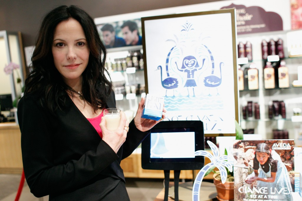 Mary-Louise Parker Supports Aveda Earth Month 2014
