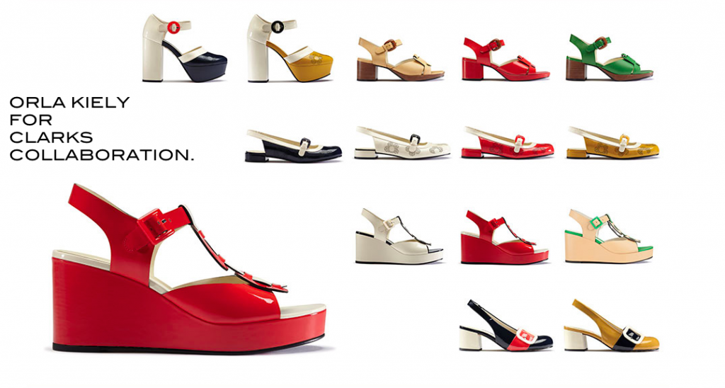 ORLA KIELY FOR CLARKS SHOES