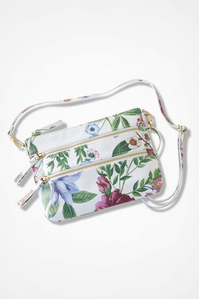 Coldwater Creek Garden Song Convertible Bag