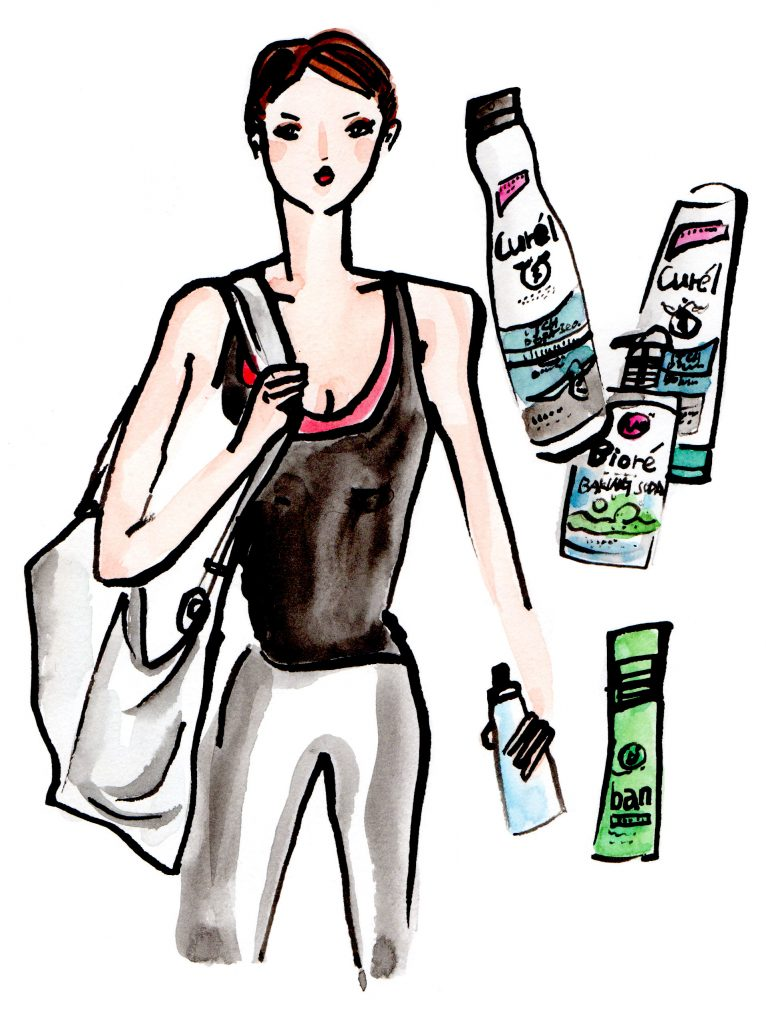 Gym Bag Skincare Essentials