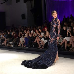 Model: Sophia Rupprecht Dress by: Bahareh Memarian