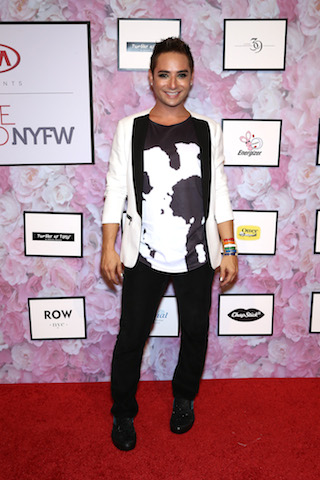 NEW YORK, NY - SEPTEMBER 13:  Designer Michael Kuluva attends as Kia STYLE360 hosts Tumbler and Tipsy by Michael Kuluva Fashion Show at Metropolitan West on September 13, 2016 in New York City.  (Photo by Thomas Concordia/WireImage Style360)