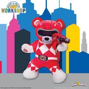Power Rangers x Build a Bear  HEYDOYOU