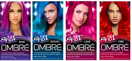 Go From Boring To Fabulous With This All In One Kit Just Minutes Splat Midnight Collection Leaves Your Hair Looking And Feeling Fresh Bright